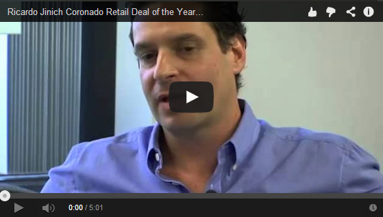 Ricardo Jinich Coronado Retail Deal of the Year